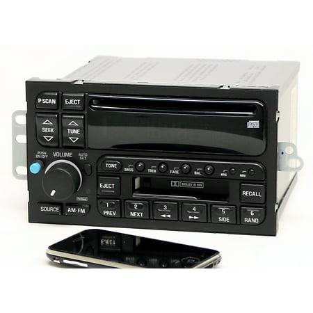 Buick Century LeSabre Regal 1996-03 Radio AM FM CD CS w Bluetooth Music 09373354 - Refurbished