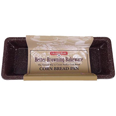 Granite Ware Better Browning Bakeware Corn Bread Pan