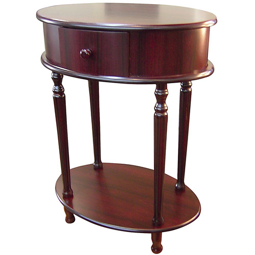 "Ore International 28"" Oval Side Table"