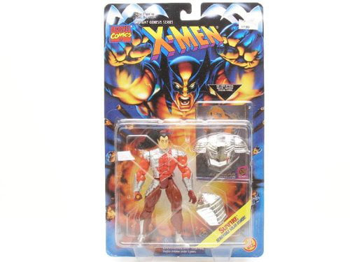 SUNFIRE * Removable Solar Armor * 1995 Marvel Comics X-Men Mutant Genesis Series Action Figure & Marvel... by