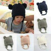 SUNSIOM Baby Newborn Knitted Crochet Beanie Hat Boy Girl Winter Warm Kids Cap Toddler