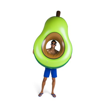 BigMouth Inc. Giant Inflatable Avocado Pool Float, Durable Fun Swimming Pool -
