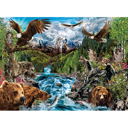 SunsOut River of Life 1500 Piece Jigsaw Puzzle 46580
