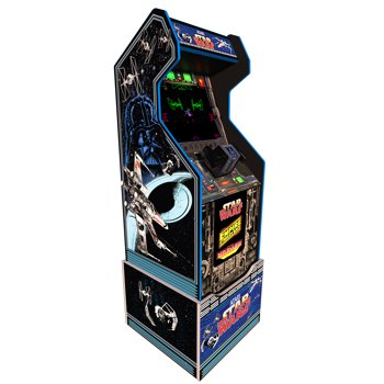 Star Wars Arcade Machine with Riser by Arcade1UP