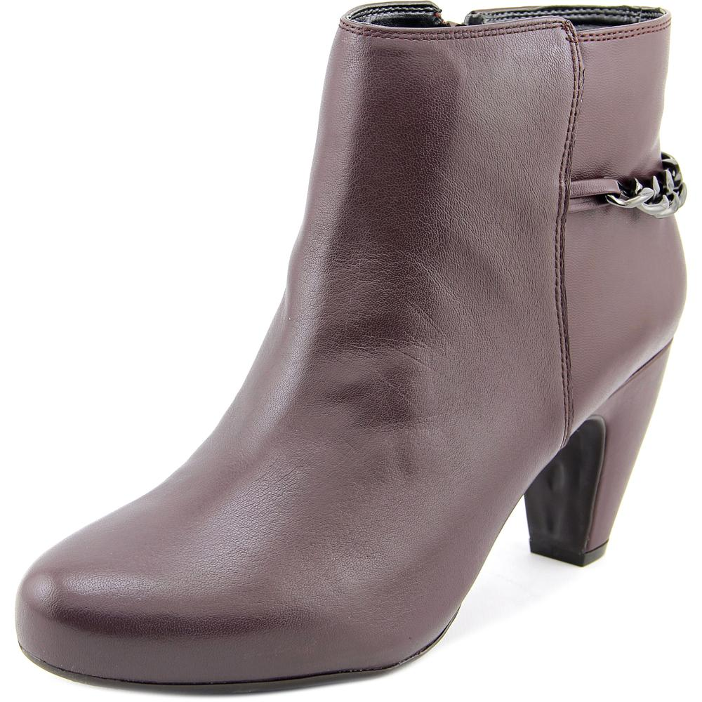 Easy Spirit Parilynn Women W Round Toe Leather Ankle Boot by Easy Spirit