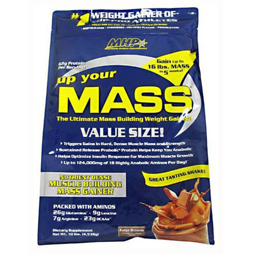 MHP  Up Your Mass, Fudge Brownie, 10 LB