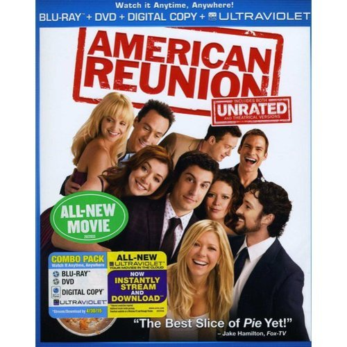 American Reunion (Unrated) (Bluray   DVD) (With INSTAWATCH) (Widescreen)