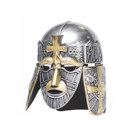 Adult's Silver Crusader Helmet Costume Accessory
