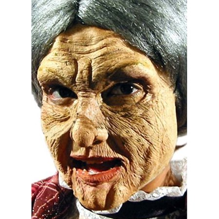 Old Woman Latex Prosthetics Appliance Kit Makeup Mask