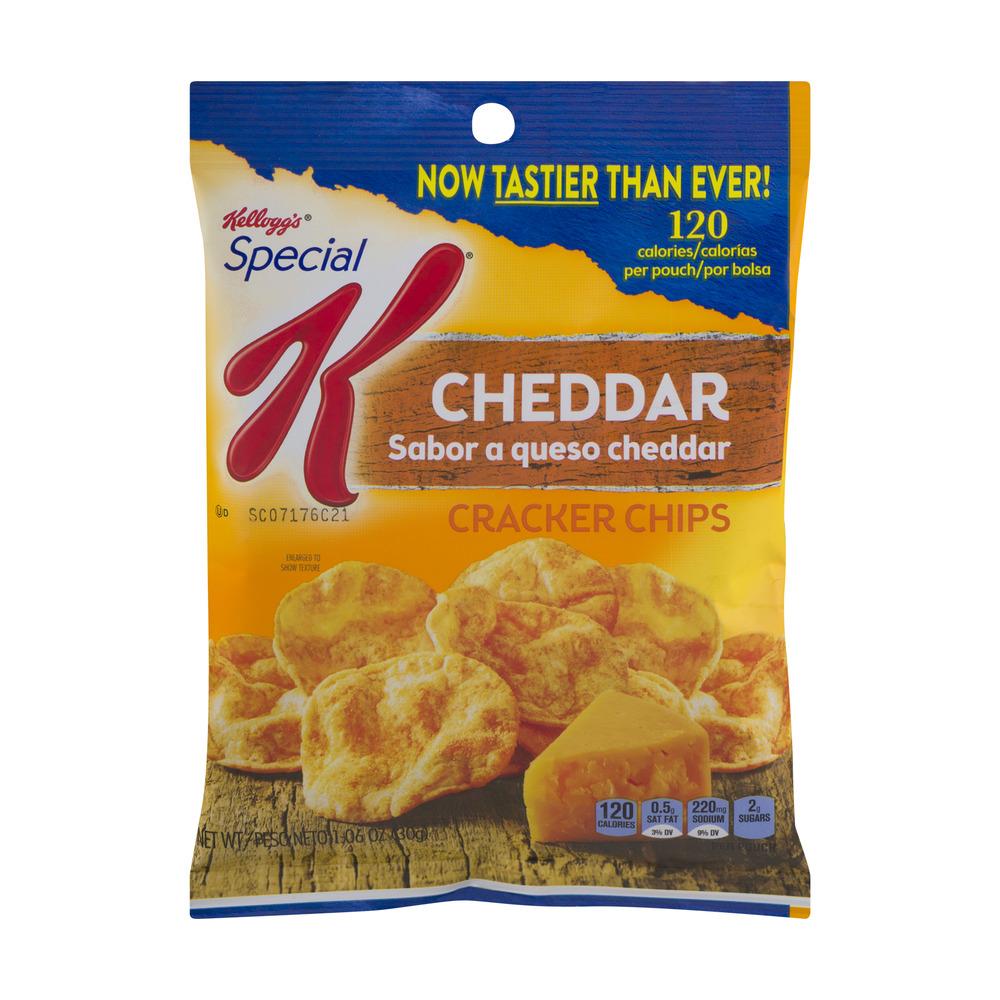 Kellogg's Special K Cracker Chips Cheddar, 1.06 Oz.