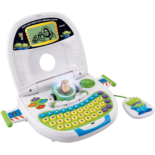 Toy Story 3 Buzz Lightyear Star Command Laptop