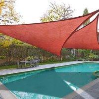 Product Image Yescom 2x 11 5 Triangle Sun Shade Sail Beach Canopy Cover Uv Blocking