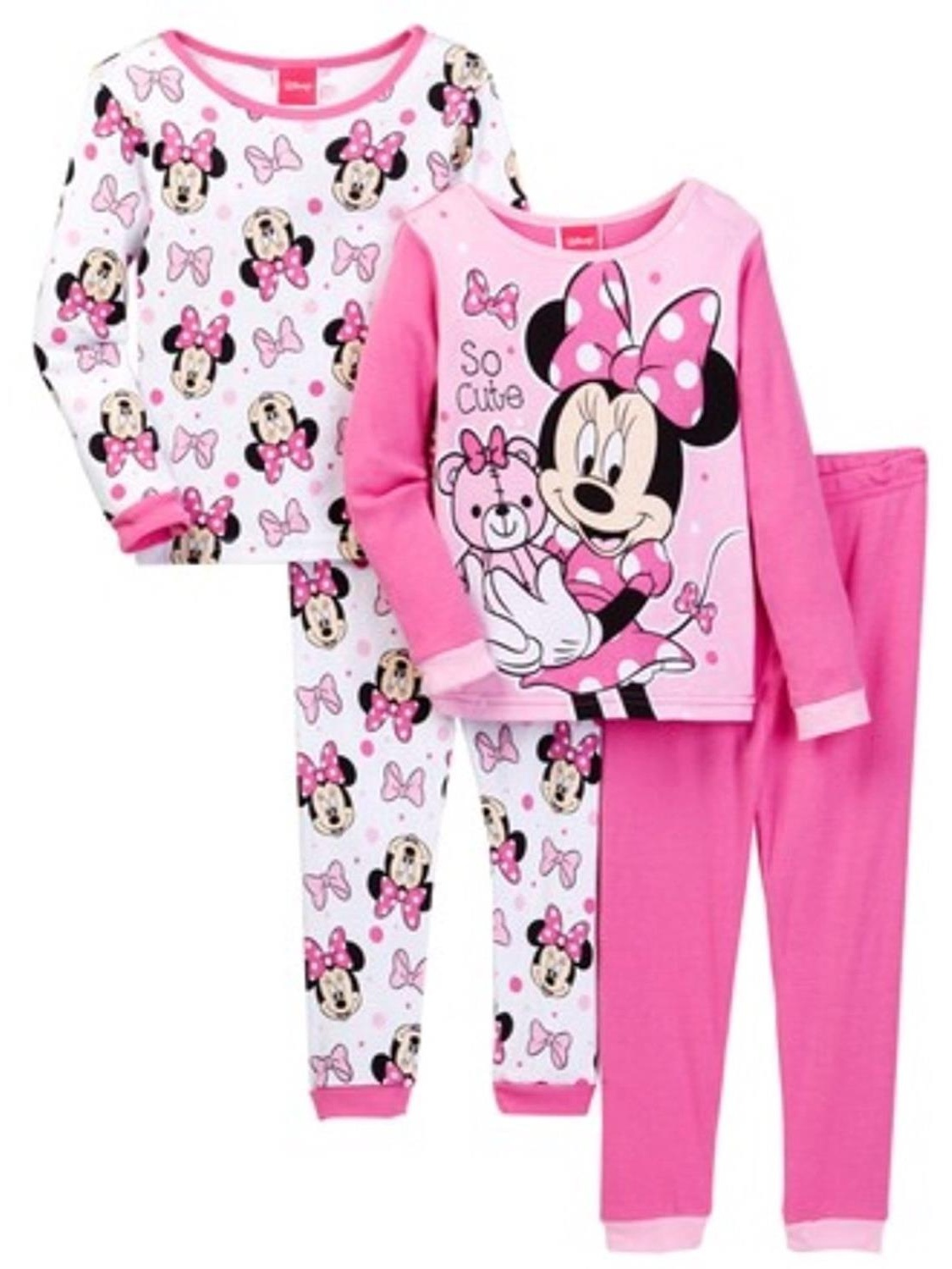 Girls Pajamas Set Cotton Pjs Short Kids Sleepwear Toddler Clothes 2 Piece