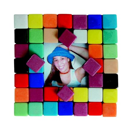 School Specialty Mosaic Picture Frame Magnet Kit