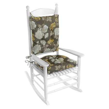 Outstanding Klear Vu Easy Care 2 Piece Outdoor Rocking Chair Cushion Set Interior Design Ideas Pimpapslepicentreinfo