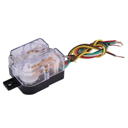 250V 3A 6 Wires Connector 180 Degree Rotary Shaft Timer for Washing