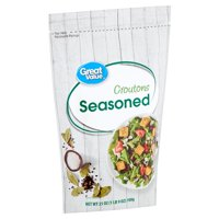 Great Value Seasoned Croutons, 25 oz