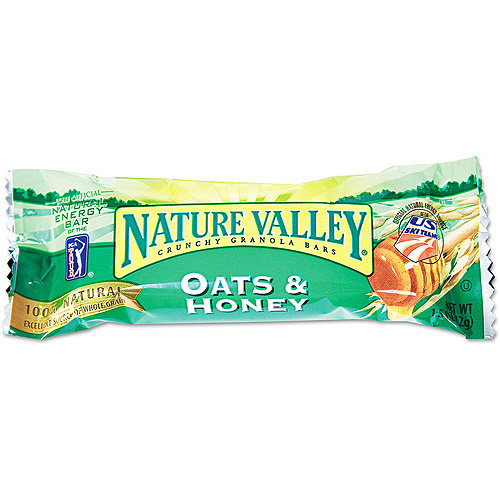 Nature Valley Oats 'N Honey Cereal Granola Bars, 18 ct