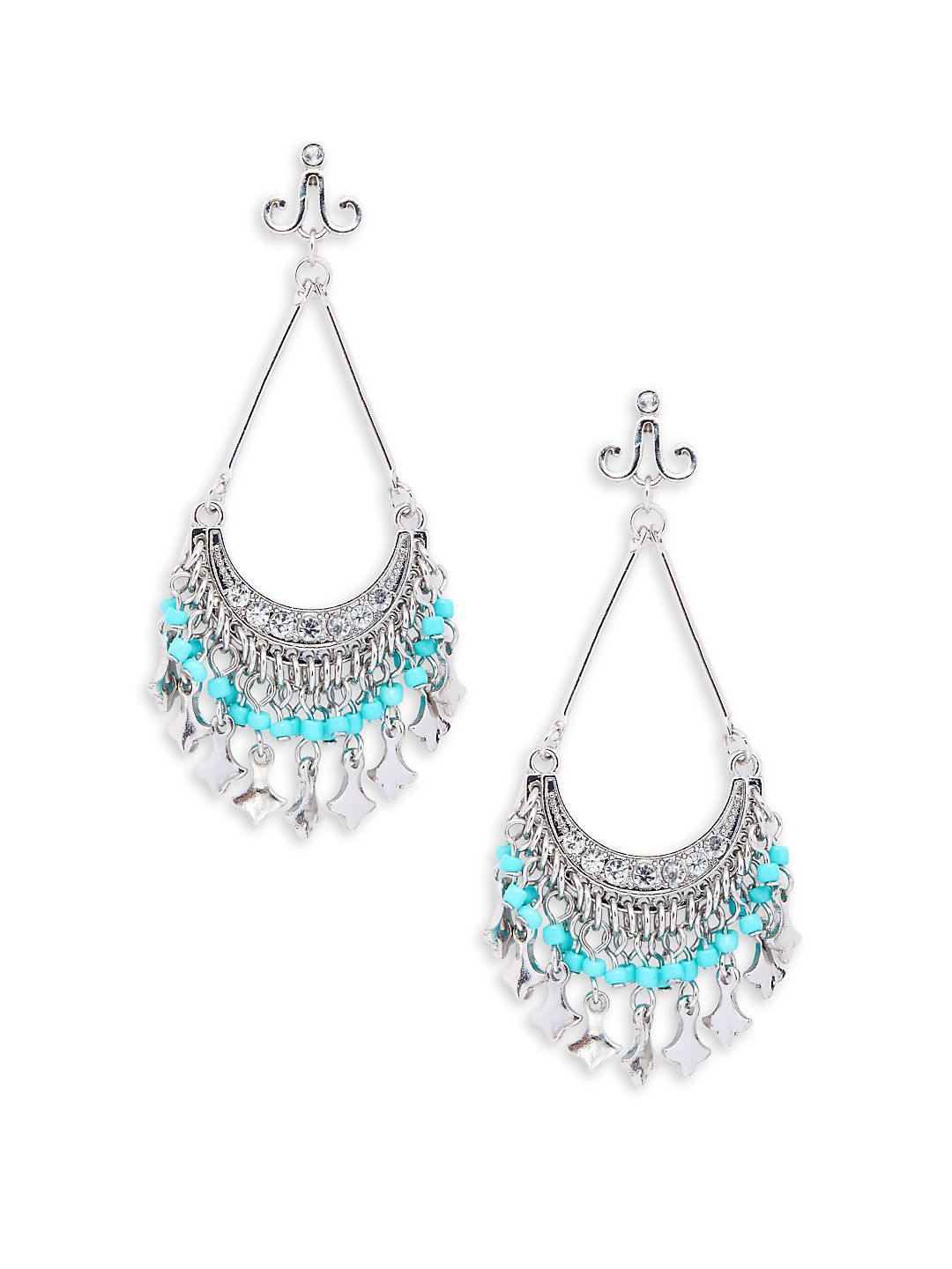 Crescent Chandelier Earrings