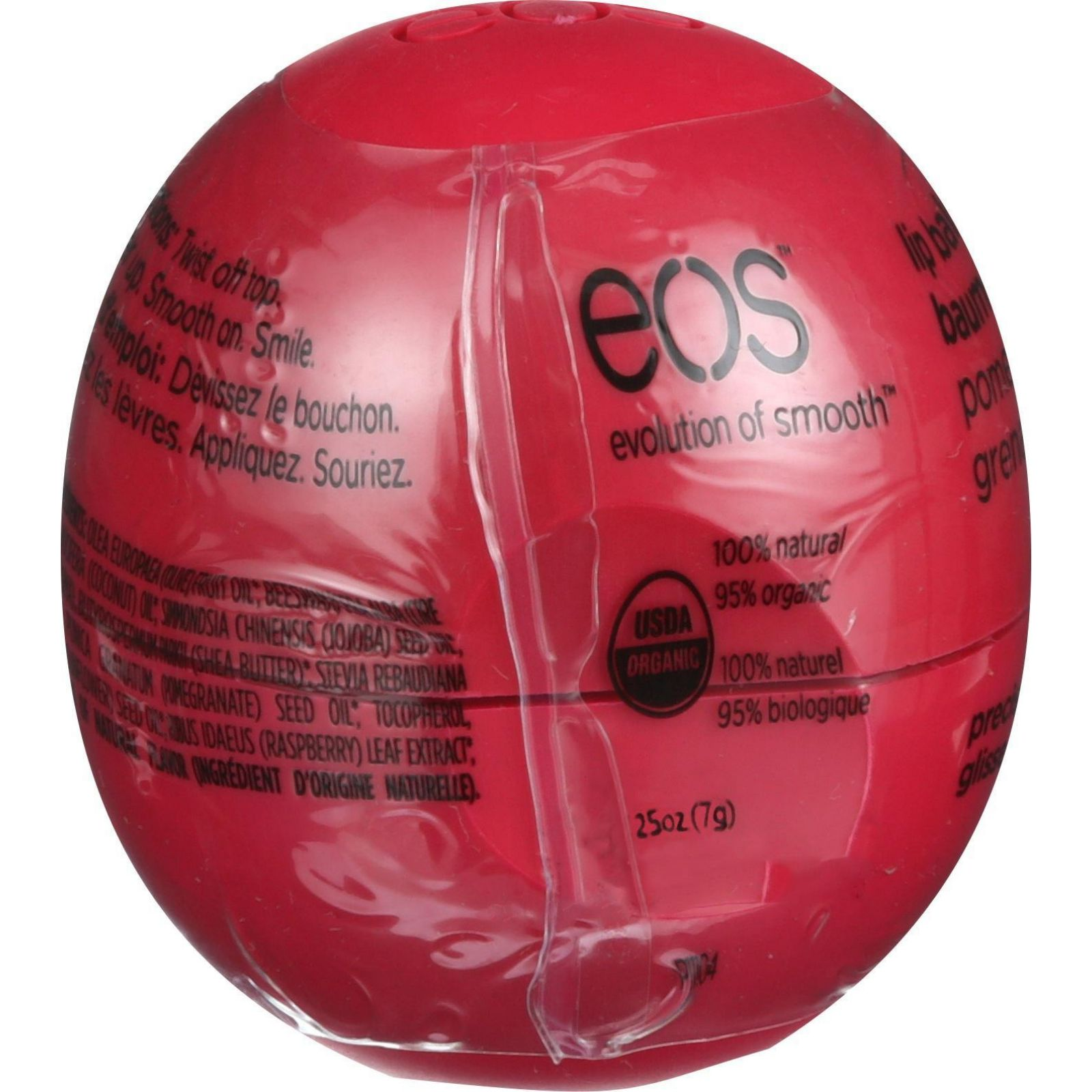 eos Lip Balm, Pomegranate Strawberry, 0.25 oz