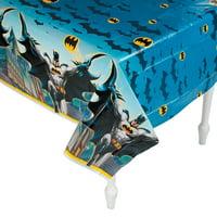 Batman Plastic Tablecover for Birthday - Party Supplies - Licensed Tableware - Misc Licensed Tableware - Birthday - 1 Piece