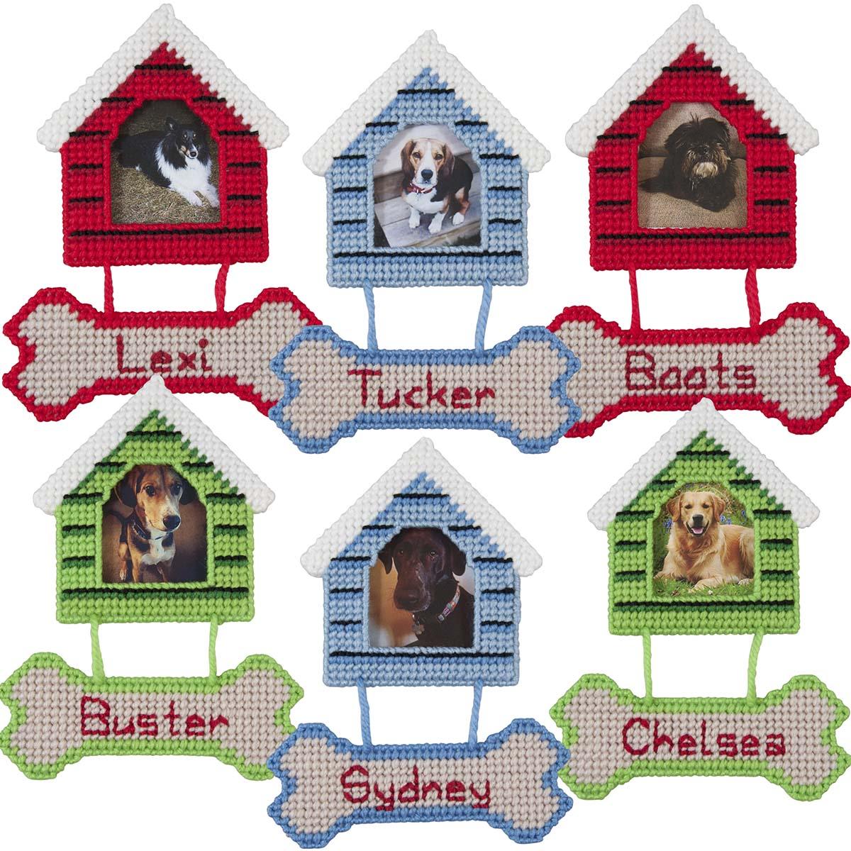 Herrschners® Dog House Ornaments Plastic Canvas Kit