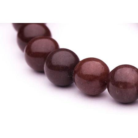 Mookaite Round Beads (Round - Shaped Mookite Beads Semi Precious Gemstones Size: 12x12mm Crystal Energy Stone Healing Power for Jewelry)
