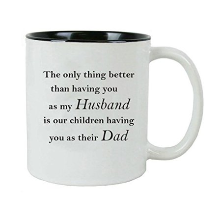 Only thing better than having you as my dad is my children having you as their grandpa Ceramic Coffee Mug with Gift Box - Great for Father's Day, Birthday, or Christmas Gift for Dad, Grandpa](Boxes For Christmas Gifts)