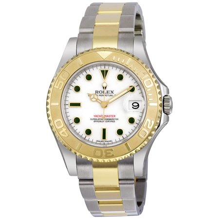 Pre-owned Rolex Yacht-master Automatic White Dial Unisex Watch Pre Owned