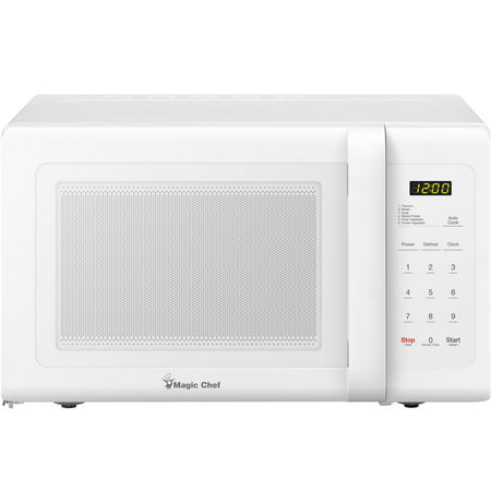 Magic Chef 0.9 Cu. Ft. 900W Countertop Microwave Oven in White