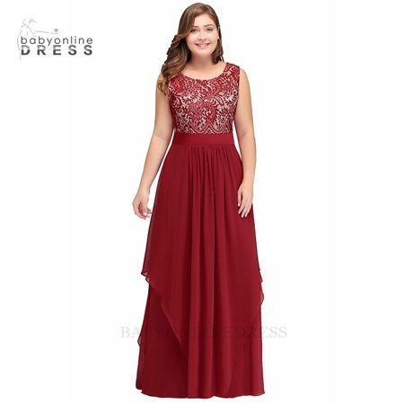 Asymmetric evening dresses long vestido de festa Burgundy Mother of the  bride dresses Plus size Evening Party Prom Dress Gowns