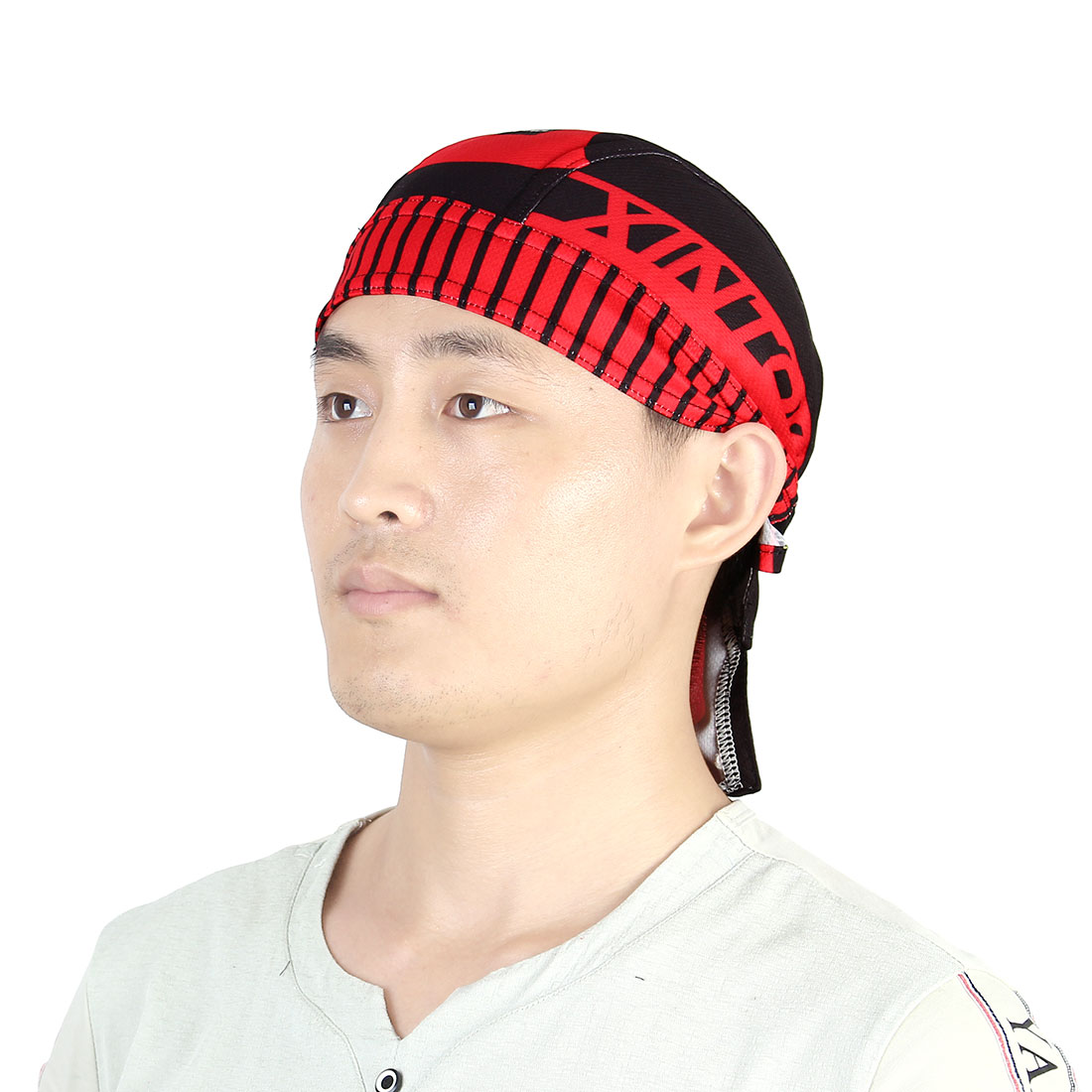 XINTOWN Authorized Adult Unisex Outdoor Elastic Headscarf Quick Dry Cap Cycling Biking Sports Pirate Hat
