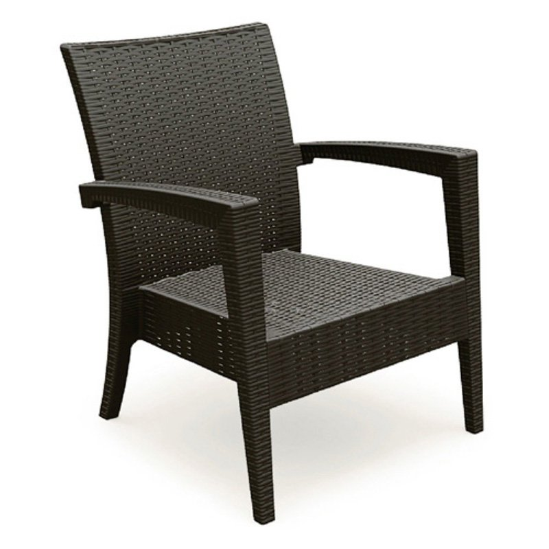 Compamia ISP850 Miami Resin Club Chair   Set Of 2