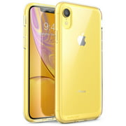 iPhone XR Case, SUPCASE [Unicorn Beetle Style Series] Premium Hybrid Protective Clear Cases for Apple iPhone XR 6.1 inch 2018 Release (Clear)