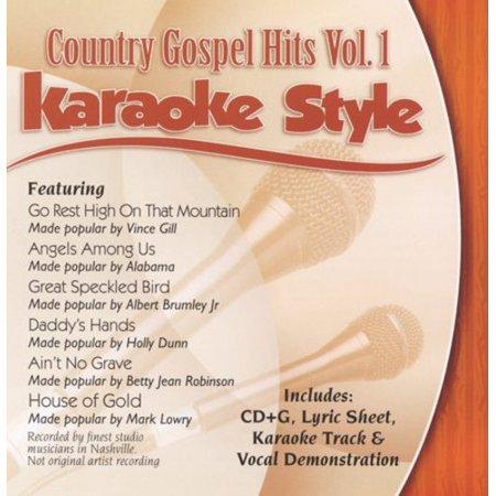 Karaoke Style: Country Gospel Hits, Vol. 1