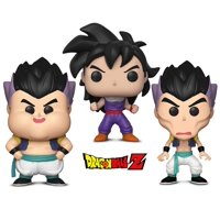 Warp Gadgets DBZ Bundle - Funko POP! Dragon Ball Z: Gotanks Failed Fusions 2 Pack and Gohan (Training Outfit) (2 Items)