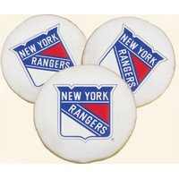 Rangers NHL Team Logo Tailgate Party Cookies - Delivery