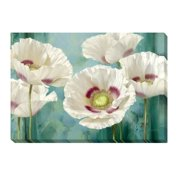 Artistic Home Gallery 'Tasmanian Poppies' by Levashov Painting Print on Wrapped Canvas