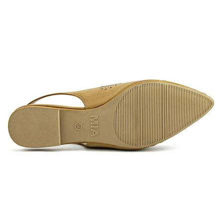 Mia Alannah    Pointed Toe Synthetic  Flats