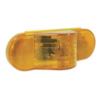 GROTE 52193 Economy Oval Side Turn/Marker Lamp