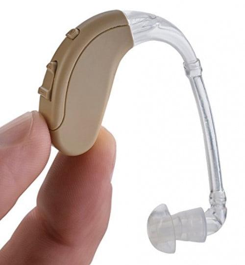 "NewEAR Digital Modern High Power Personal Sound Hearing Amplifier Aid ""FDA Approved"""