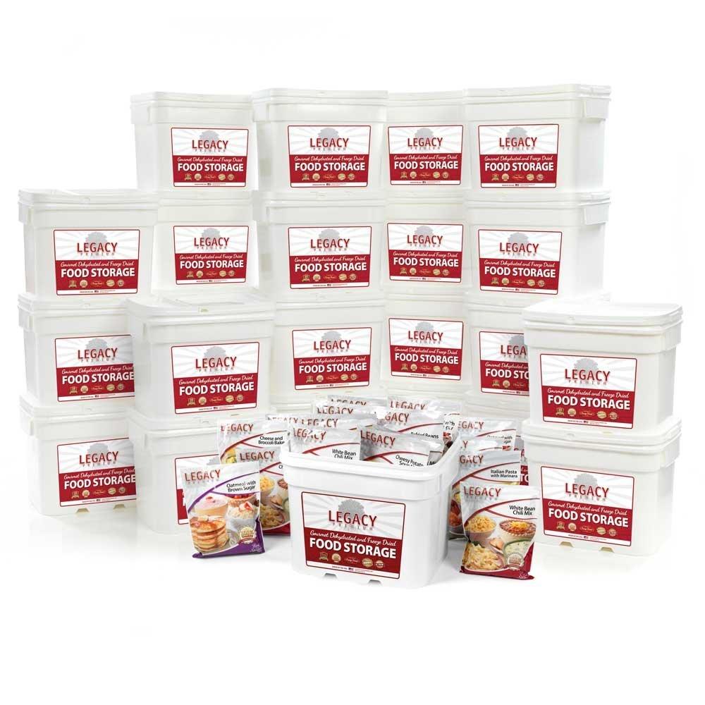Legacy Premium Food Storage Emergency Dry Home Food Storage Supply 2880 Large Servings - 738  sc 1 st  Walmart.com & Legacy Premium Food Storage Emergency Dry Home Food Storage Supply ...