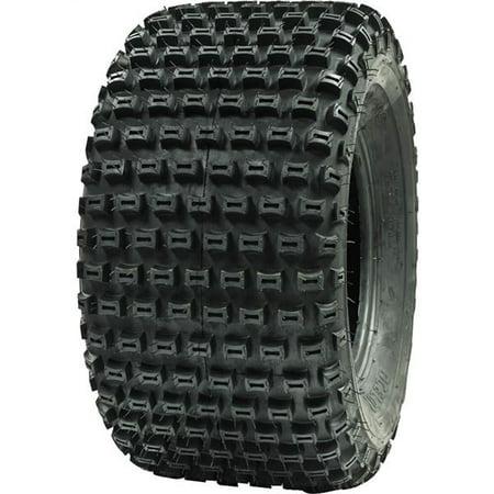 Ocelot Knobby Sport ATV / UTV Rear Tire for Dirt Grass and Gravel 16x8-7 (Best Tires For Gravel Roads)
