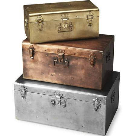 Butler Spirit Iron Storage Trunk - Spirit Stores