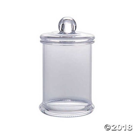 Mini Plastic Pedestal Candy Containers with Lid