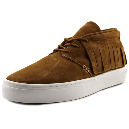 - Clear Weather One-O-One Midtop Sneaker Honey Suede CRW-101-CO