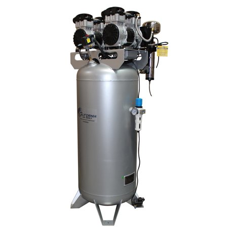 Drain System - California Air Tools 60040DCAD Ultra Quiet & Oil-Free 4.0 Hp, 60.0 Gal. Steel Tank Air Compressor with Air Drying System & Auto Drain