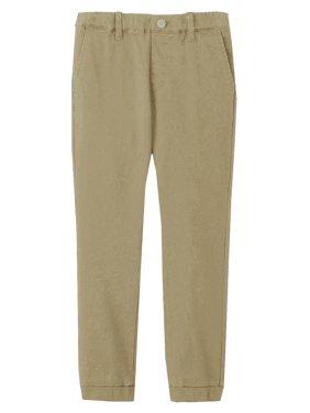 Children & Boys Joggers Casual Twill Pants Dress School Uniform (Big boys, Little Boys)
