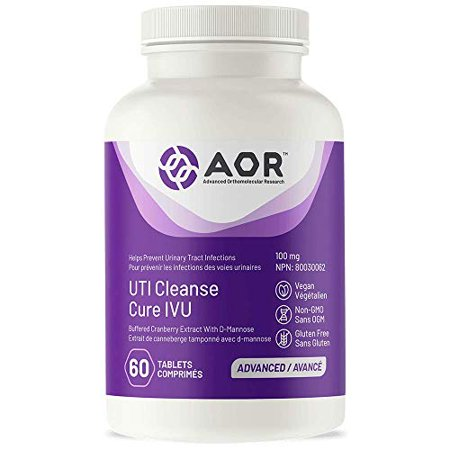 AOR Cleanse Flush Cranberry Extract 120 Cap Urinary, 120 CT - image 1 de 2