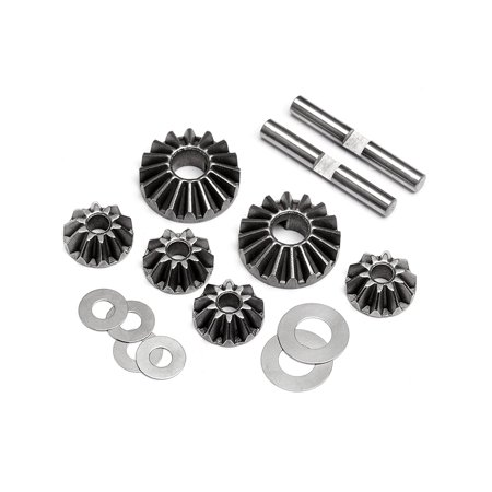 Hpi Bevel Gear - 106717 Gear Diff Bevel Gear Set 10t/16t, Made by HPI Racing; HPI Racing is a United States based company; parts are sourced from Taiwanese and Chinese.., By HPI Racing Ship from US